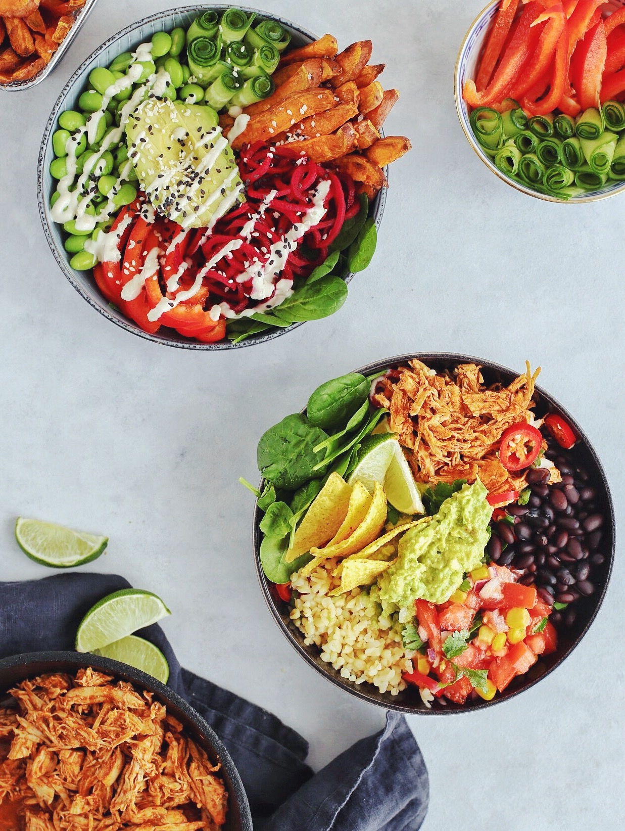 Mexi bowl og Buddha bowl